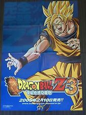 Dragon Ball Z Poster Special Bandai Tournoi Game 2005 Naruto Pokémon One Piece .