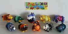 KINDER SURPRISE NATOONS ANIMALS SVITATELLI FERRERO FIGURES CAKE TOPPER +1 PAPER