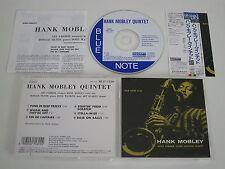 HANK MOBLEY/QUINTET(BLUE NOTE TOCJ-1550)JAPAN CD+OBI