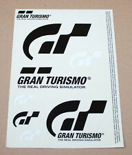 Gran Turismo The Real Driving Simulator Promo Sticker Set from Gamescom 2016
