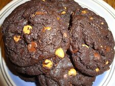 DECADENT RICH & CHEWY HOMEMADE CHOCOLATE BUTTERFINGER COOKIES (2 DOZEN)