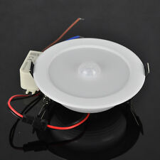 5W E27 PIR Motion Sensor SMD 10 LED Ceiling Step Light Downlight Wall Path Lamp