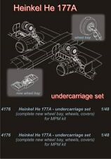 CMK 1:48 He 177A Undercarriage Set for MPM Resin Kit #4176
