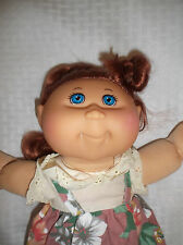"""2011 CABBAGE PATCH KIDS JAAKS 15"""" RED HAIR BLUE EYES CLOTH / VINYL"""