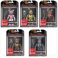 "Five Nights At Freddy's 5"" Figures Funtime Foxy,Nightmare Chica,Nightmare Bonnie"