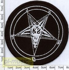= PENTAGRAM /INVERTED PENTACLE- embroidery patch , aufnäher, naszywka
