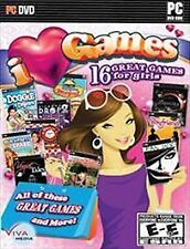 Video Game PC I Love Games 16 for Girls Vogue tales Gourmania Joan Jade Pet Vet