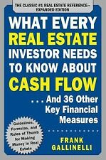 What Every Real Estate Investor Needs to Know about Cash Flow... and 36 Other...