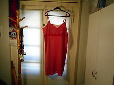Holiday Editions Red w/white polka-dots HEARTS plus SZ 3x nightgown knee-length