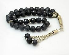 Jade stone prayer beads / worry beads / Tasbeeh / Tasbih