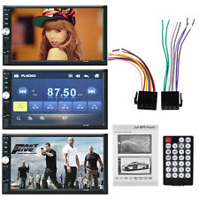 """7"""" Car Stereo 2 Din In Dash CD/SDVCD//USB AUX FM MP3 MP5 Player Touch Screen"""