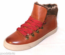 "Clarks Ladies ""MARBLE GLORE"" tan leather ankle boots size 5D New"