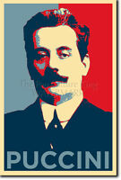 GIACOMO PUCCINI - HOPE POSTER - PHOTO PRINT ORIGINAL ART GIFT