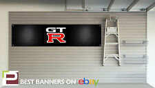 Nissan GTR Company Workshop Garage Banner