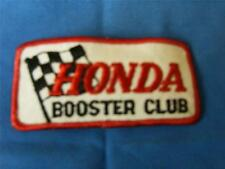 """Vintage 70's NOS sew on patch,    """"Honda Booster Club""""      60"""