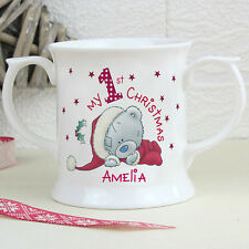 Me to You My 1st Christmas Loving Mug - Personalised Baby's First Christmas Gift
