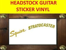 HEADSTOCK SQUIE STRAT GOLD STICKER DECAL VISIT OUR STORE WITH MANY MORE MODELS