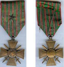 Médailles en variantes - Croix de guerre 1914/1918 avec 1 citation d'époque