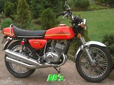 Kawasaki S2 350 Triple 1973 S2a Orange, Decal set - The BEST!