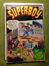 """Superboy #140  silver age dc comics - """"the wizard of odds"""" 1967 gambler"""