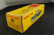 Boite seule Dinky Toys F n° 550 Chrysler saratoga Box only