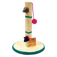 CAT PET TIRAGrAFFI PALO Pole ACTIVITY CENTRE GIOCO GIOCATTOLI Arrampicata Sisal Scratcher