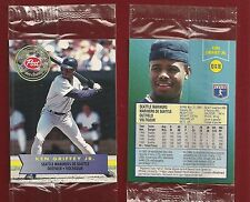 1994 Post Cereal Canada Seattle Mariners #10 Ken Griffey Jr. in Cello Pack