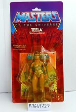 MOTU, Teela, 8-back, Masters of the Universe, MOC, carded, figure, He Man, NIP