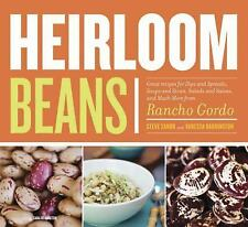 Heirloom Beans by Vanessa Barrington Recipes for dips spreads soups salads - VG