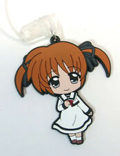 Magical Girl Lyrical Nanoha Casual Clothes Rubber Phone Strap Licensed NEW