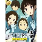DVD Hyouka (TV 1 - 22 End) DVD with English SUB + Free Gift + Free Shipping