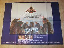 Superman II movie poster - Christopher Reeve, Margot Kidder - Original UK Quad