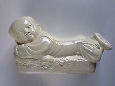 Ding Style Chinese White Ceramic Pillow Recumbent Boy Porcelain Head Rest China