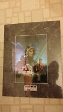 Star Wars ROTJ Chromart Chrome Art Collectibles Limited Edition # 7768 of 10000
