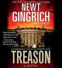 Treason : A Novel by Pete Earley and Newt Gingrich (2016, CD, Unabridged)
