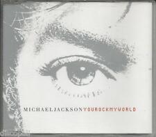 MICHAEL JACKSON - You rock my world - CDs SINGLE MINT