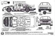 #44 Jeff Purvis Jackaroo BBQ 1995 1/25th - 1/24th Scale Waterslide Decals