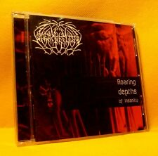 CD Scent Of Flesh Roaring Depths Of Insanity 10TR 2003 Death Metal RARE !