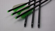 """12X18"""" crossbow arrow bolt crossbow aluminum arrow with 4"""" arrow fletching jx002"""