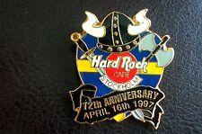 HRC hard rock cafe estocolmo 12th Anniversary Black Helmet le1500 XL fotos