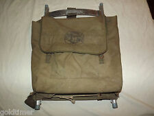 VINTAGE BSA BOYSCOUT OFFICIAL CAMPING PACKSACK BACK PACK