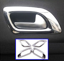 FOR 10-16 CITROEN C4 L MK2 CHROME INNER DOOR HANDLE COVER TRIM BEZEL FRAME BOWL
