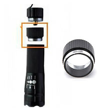 BikeCycle Torch Front Flashlight AluminumAlloy Extender Tube For18650 Battery i
