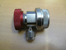 R134a Hi Side coupler with 3/8 flare (larger than 1/4 size normally used)