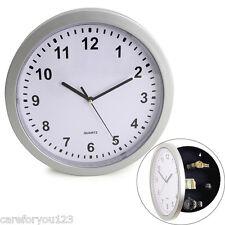 Modern Hidden Secret Clock Safe Box For Home Money Jewelry Security Storage NEW