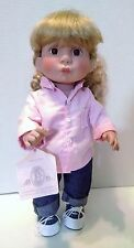 Lee Middleton Baby Doll 1993 573/1500 USA Girl Signed Kiss Pink Jeans Rubber