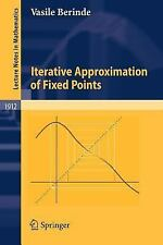 Iterative Approximation of Fixed Points (Lecture Notes in Mathematics)-ExLibrary