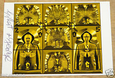 GILBERT AND GEORGE DIG '05 SIGNED EXHIBITION ART POSTCARD UACC REGISTERED DEALER