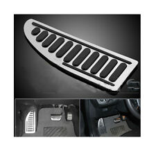 Non-Slip Durable Aluminum Rubber Footrest Pedal Cover Pad For Ford Series Car