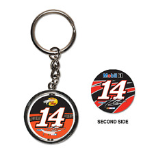 Tony Stewart Wincraft #14 Bass Pro Shops/Mobil 1 Spinner Key Ring FREE SHIP